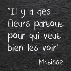 Matisse art quote