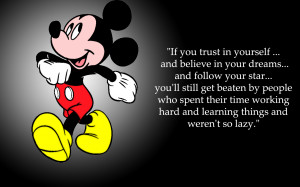 Mickey Mouse Quote About Success Wallpaper - 1440x900 iWallHD ...