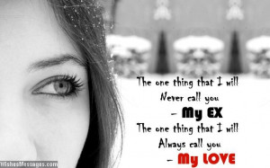 Quotes About Your Ex Boyfriend That You Still Love Sad love quote for ...