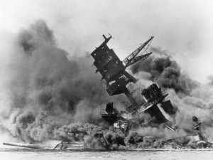 ... surprise attack on Pearl Harbor, Hawaii, on Dec. 7, 1941. (Photo: AP