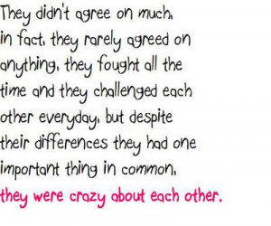 They Were Crazy About Each Other…