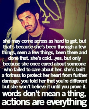 Drake - great quote