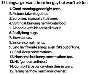 What every girl wants...