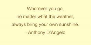 Sunshine Box Sayings