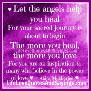 Let The Angels Help You Heal..