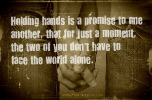 Quote That - Holding Hands