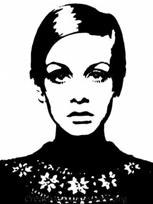 Twiggy Stencil Bassagulera
