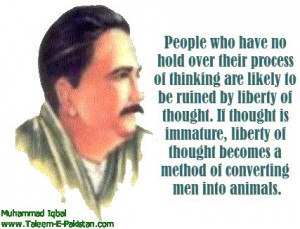 Allama Iqbal Quotes in English
