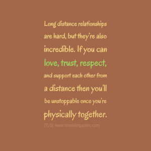 Love Quotes For Her: Long Distance Relationships