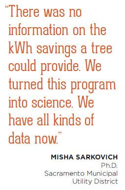 Sacramento-Misha Sarkovich quote - Urban Forest Case Studies