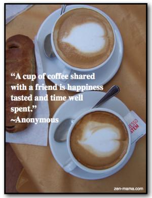 Venice Coffee:Friend quote