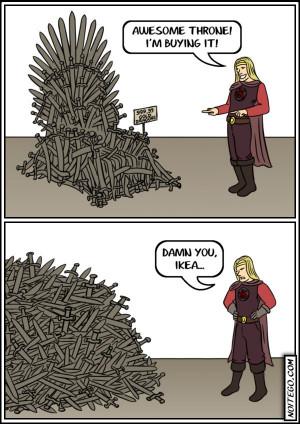 Swedish Game of Thrones – comic via