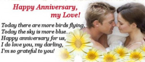 Happy Anniversary My Love Anniversary Quotes