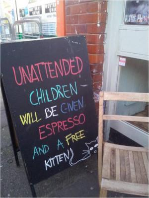 Fun Restaurant Chalkboard Ideas