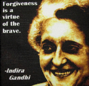 INDIRA GANDHI QUOTE- Printed Patch - Sew On - Vest, Bag, Backpack ...