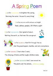 funny poems about spring Lots of funny poems, poetry contests and more ...