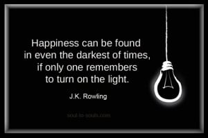 motivational, quotes, cool, sayings, j k rowling, happiness