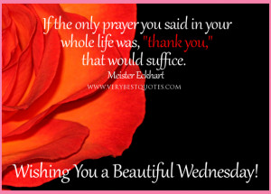 Inspirational good morning quotes, prayer quotes, thank you quotes