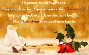 Happy Christmas Day Quotes-Merry Christmas-Forgiveness-Happiness
