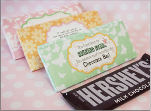 ... Shining Star :: Mothers Day Sayings Candy Bar Pocket