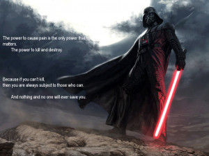 Darth Vader Quotes HD Wallpaper 14