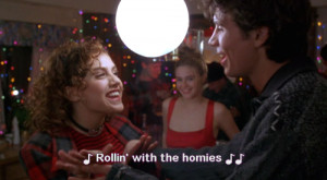 ... brittany murphy clueless movie quote rollin with the homies rip