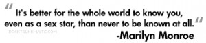 ... by marilyn monroe, inspirational marilyn monroe quotes for myspace