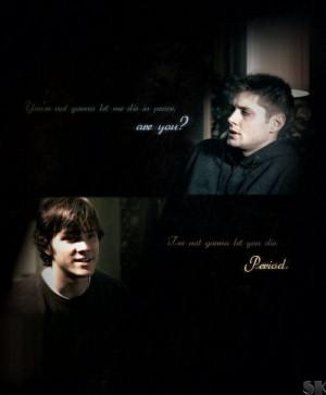 Sam and Dean | Supernatural quote