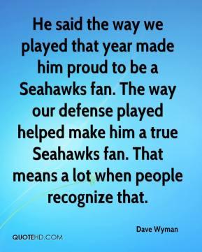 Seahawks Fan Quotes