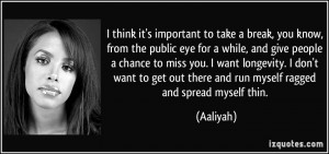 Aaliyah Quotes...