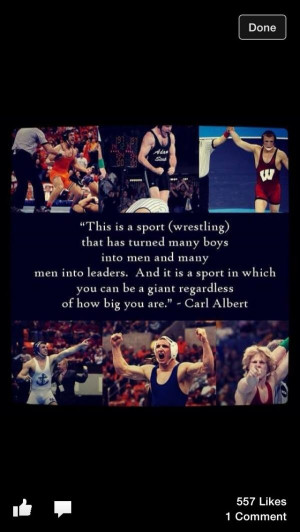Wrestling quotes, sport, best, sayings