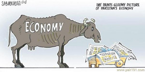 Funny Cartoon on Pakistani Economy