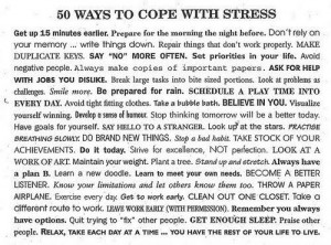... Full Size | More 50 ways to cope with stress funny quotes jokes and