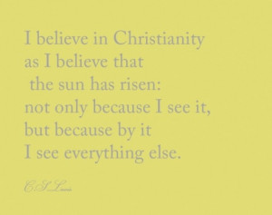 CS Lewis quote from Life in Grace blog