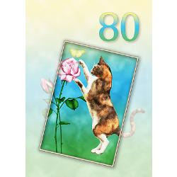 80th_birthday_card_with_a_cat_greeting_card.jpg?height=250&width=250 ...