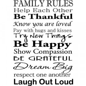 Big Family Quotes Sayings ~ The Family is God's....Family Wall Quotes ...