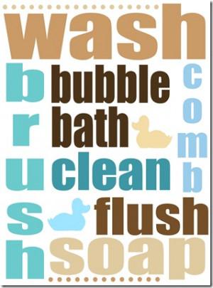 Printable Bathroom Quotes Quotesgram