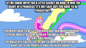 Adventure time Quotes - let me share with you a little secret on how ...