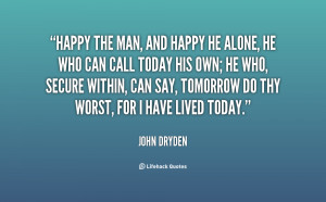 Alone And Happy Quotes Preview quote
