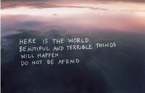 beautiful, hipster, indie, photography, quote, sky, typography ...