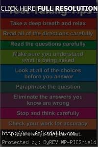 Motivational Test Taking