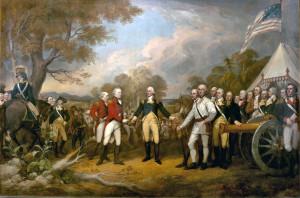 The Surrender of General Burgoyne at Saratoga
