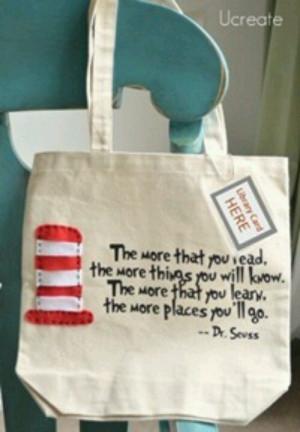 Cute library bag!