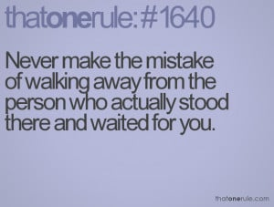 Walking Away From Love Quotes