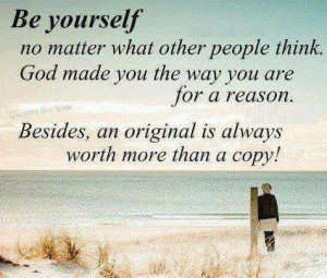 Sayings about being yourself