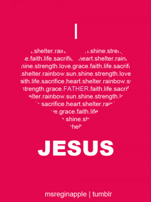 heart, jesus, love, pink, quote, quotes, word, words