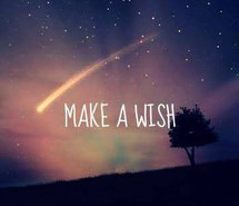 cute, quote, quotes, shooting star, sky, stars