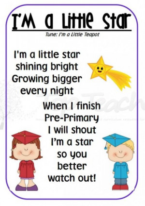 preschool graduation poems