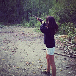 Shots Fired! Bristol Palin Holds a Gun and Quotes Bible Verse in New ...