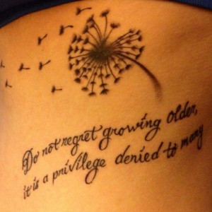 ink #dandelion #tattoo #quotetattoo #inspirational